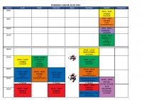 Planning saison 2018-19