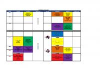 Planning Vacances 29 Avr-6 Mai