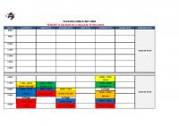 Planning semaine 51