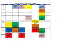 planning semaine 2